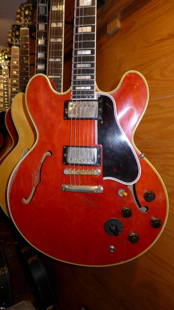 This is one of only a handful of stop tail ES-355's. They were all Custom orders and I know of 6 of them. I've owned four of the six. This one is a 60 and formerly owned by Charlie Wirz, one of the first vintage dealers in the country.