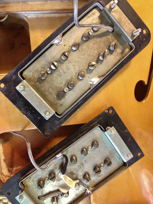 Having Seth Lover design your humbuckers must be like having Frank Lloyd Wright design your garage. It's a good pickup but it's not his best design ever.