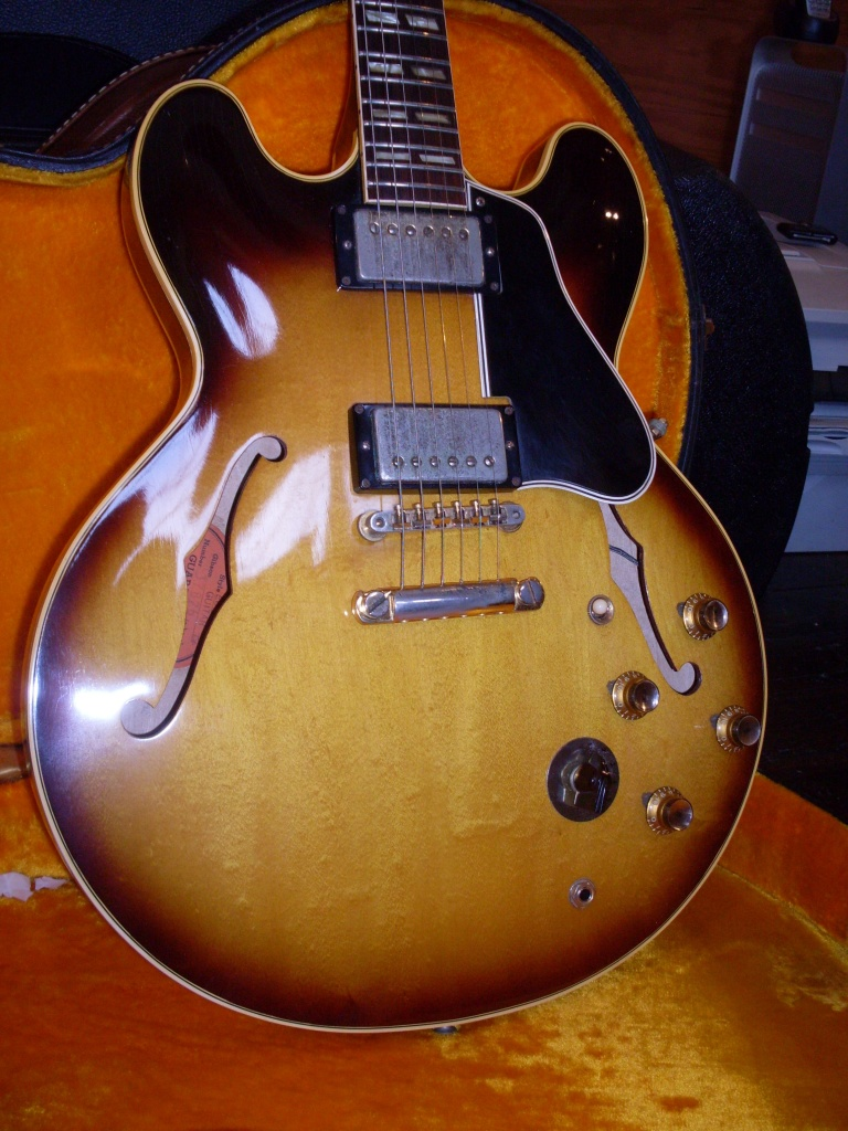 This 61 ES-345 looked pretty darn good but wasn't quite 100% when I got it. Fortunately, I have a lot of spare parts.