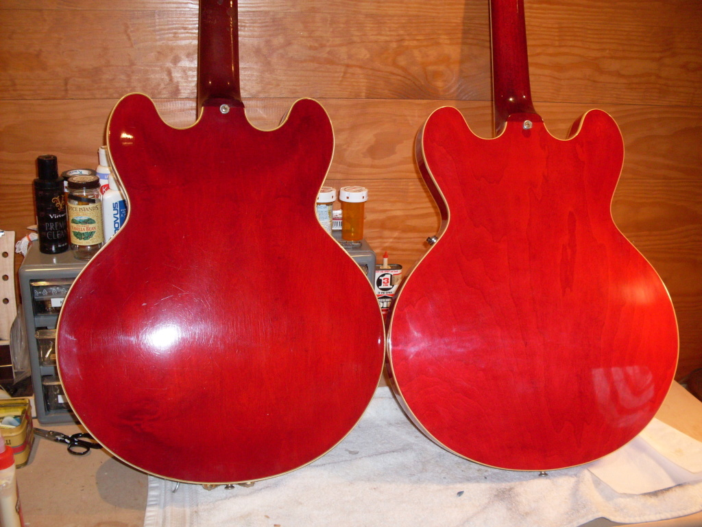 One of these is a real 61 and the other is a Warren Haynes 61 built in 2014. Getting close aren't they?