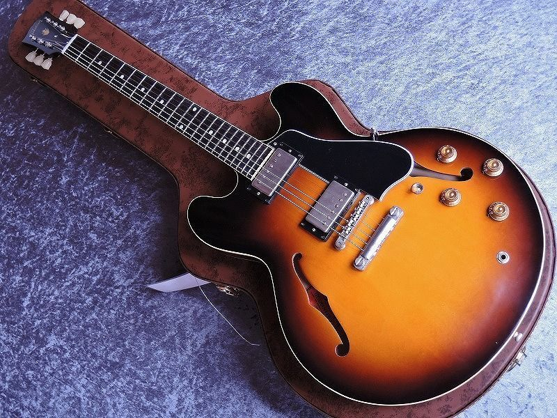 This ES-335 59 reissue is listed on Ebay for around $6500. It looks a lot like a real 59 (except the pickup cover are still wrong). That's a lot for a new guitar. I'm sure a fair number of man hours goes into them but still, I imagine Gibson is making a few bucks on these.
