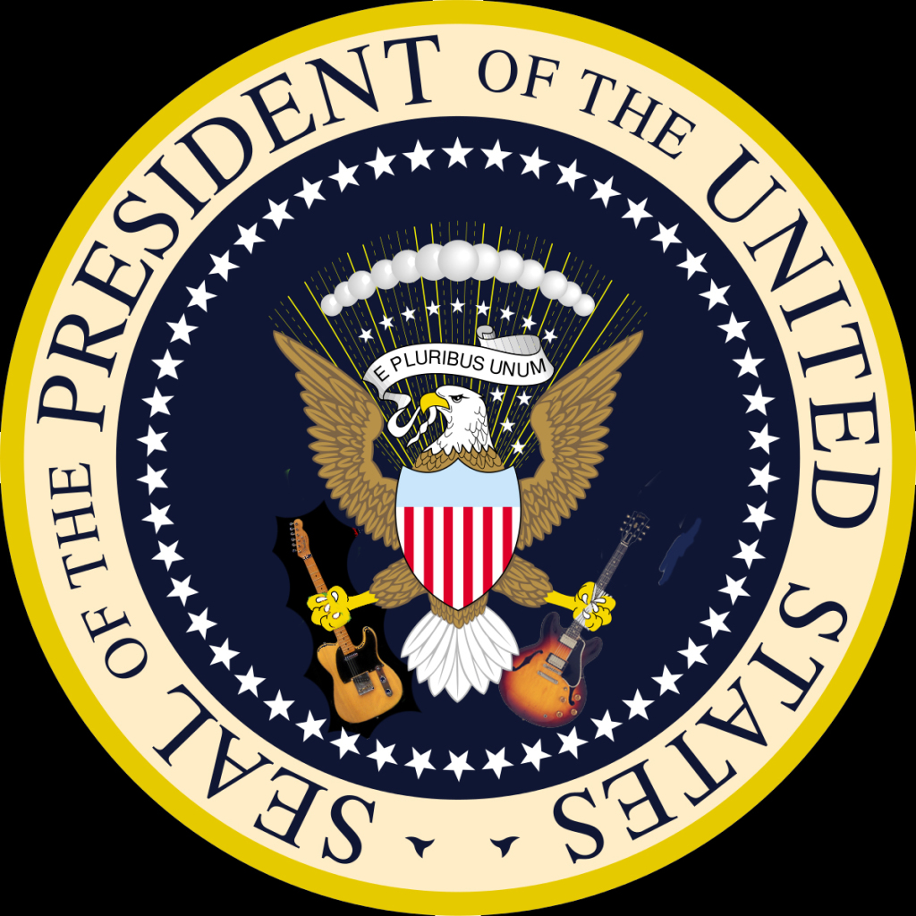 If I had won the election (and I probably could have), this would be the new seal.