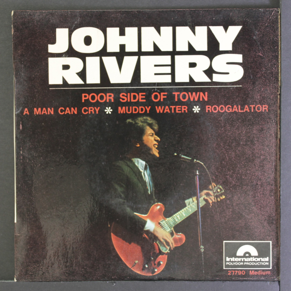 "First 335 I ever saw was played by Johnny Rivers (sitting down) on ""Shindig"""